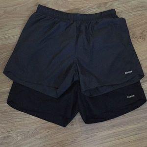 Reebok Women's running shorts. Bundle of 2.